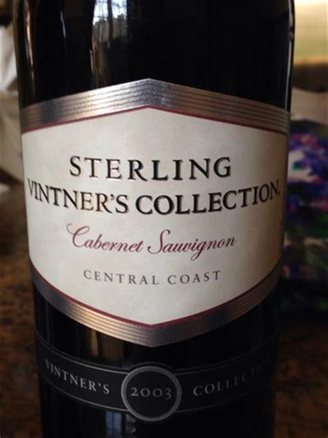 sterling vintners collection cabernet sauvignon