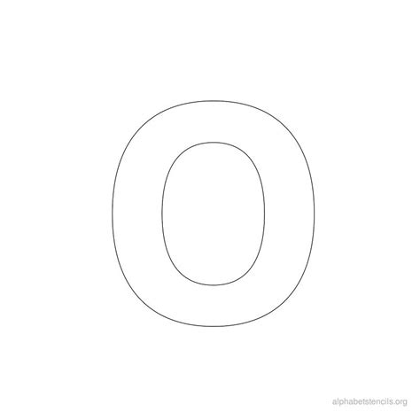 letter o template search results for block letter alphabet template
