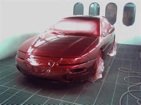 black cherry car paint