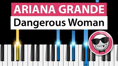 tutorial piano dangerous ariana grande dangerous woman piano tutorial how to