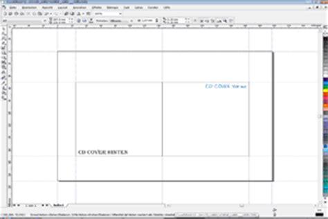 Word Vorlage Cd Booklet Cd Label Unter Corel Draw Einfach Erstellen Psd Tutorials De