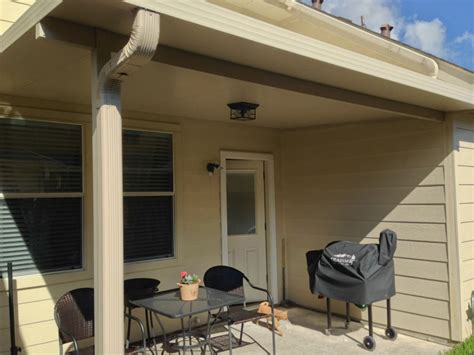 3? Insulated Patio Cover in Pasadena ? Flat ceiling » A 1
