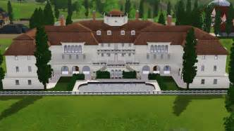 Mansion Floor Plans Sims 3 sims 3 luxury mansion by ramborocky on deviantart