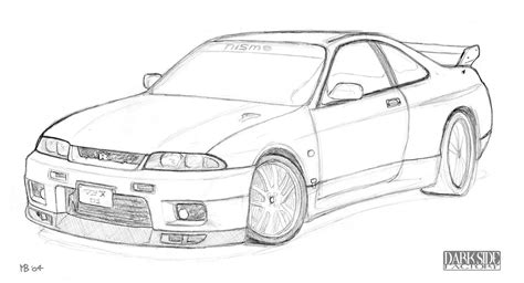 nissan skyline drawing outline nissan skyline by kronosaurus82 on deviantart