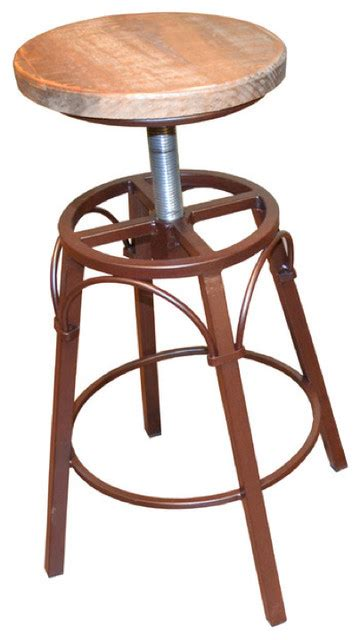 Industrial Counter Height Stools by Bayshore Adjustable Height Bar Stool Industrial Bar