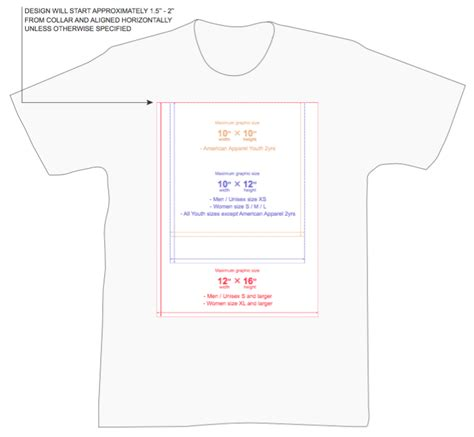 size t shirt template everything you need to to prepare the