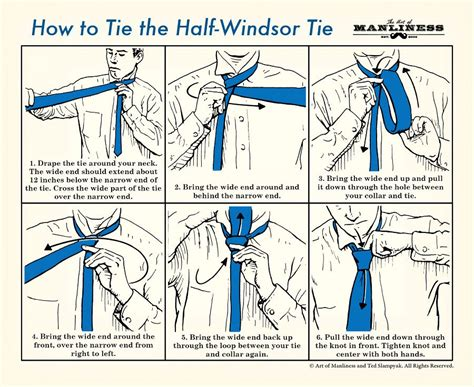 How To Tie Knots - how to tie a tie the of manliness