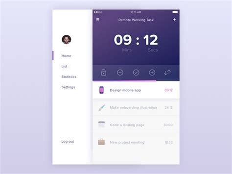 mobile layout design inspiration navigation inspiration for mobile user interfaces 20 designs