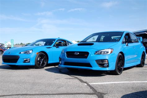 new blue color subaru reveals new hyper blue exterior color subaru
