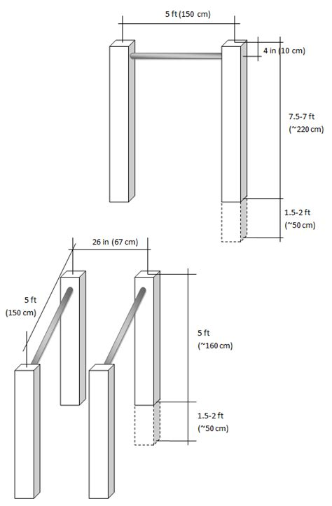 backyard parallel bars building outdoor pull up bar and parallel bars ivo manolov s blog