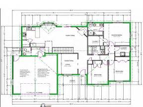 Free House Floor Plans by Draw House Plans Free House Plan Reviews