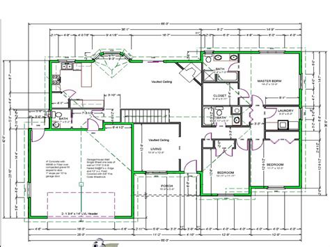 Online Floor Planner by Draw House Plans Free House Plan Reviews
