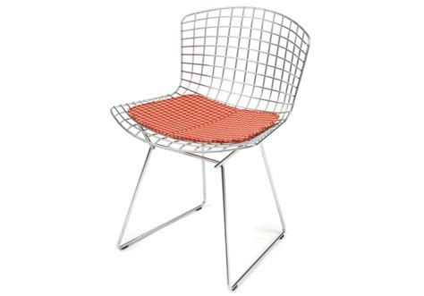 Bertoia Chair by Knoll Bertoia Chair With Cushion Milia Shop