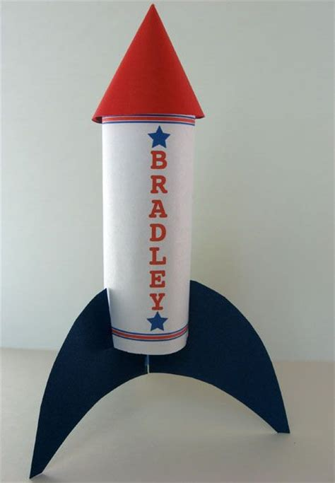 Paper Rockets - toilet paper roll rockets would be for to make