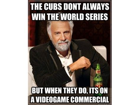 Chicago Cubs Memes - more money bet on chicago cubs to win world series than