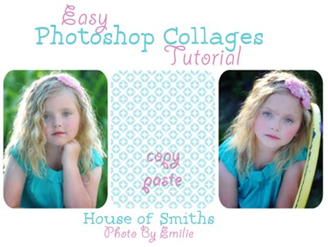 tutorial photoshop easy easy photoshop collage tutorial