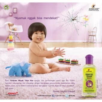 Konicare Minyak Telon 6 Pcs 30 Ml harga spesifikasi konicare telon plus 125ml pack of 3
