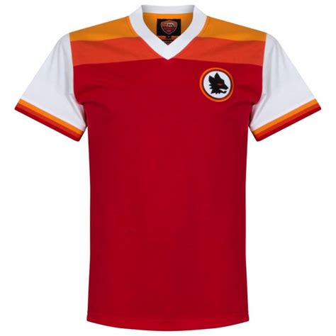 Tshirt As Roma 1 78 79 as roma retro shirt