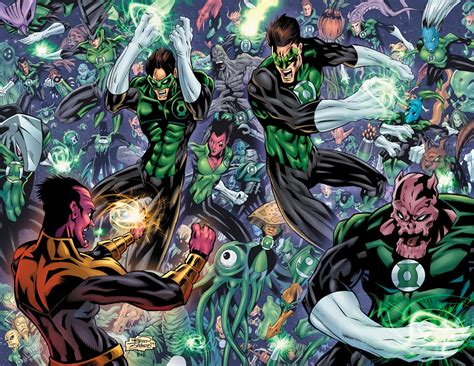 lantern corps colors cjb productions green lantern corps spread colors revealed