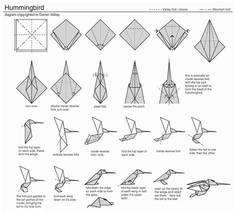 Easy Origami Wolf - pin origami wolf step pictures on