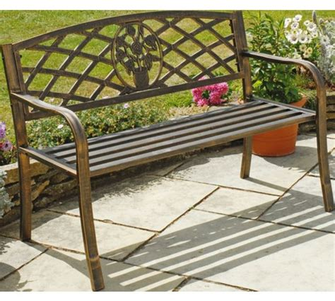 bench watches argos buy garden cast iron bench brown at argos co uk your