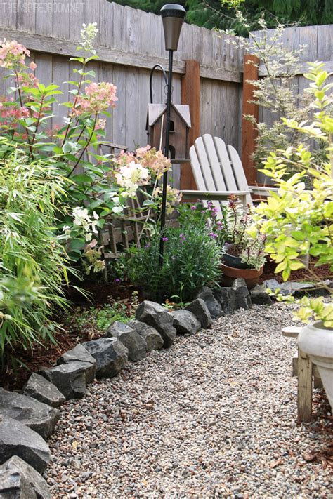 gravel ideas for backyard my backyard tour pea gravel patios flagstone secret