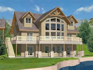 Lake House Plans With Basement Houseplan 039 00352 Old Florida Homes Pinterest