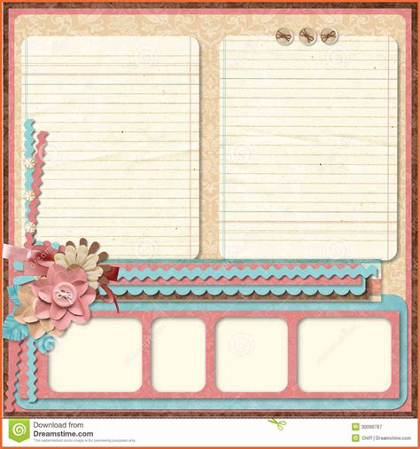 free scrapbook templates vintage scrapbook backgrounds
