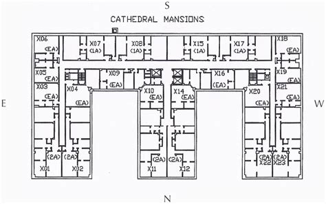 apartment complex floor plans two bedroom 171 cathedral mansions apartments shadyside