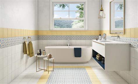 Badezimmer Fliesen Akzente by Fliesen Zementoptik