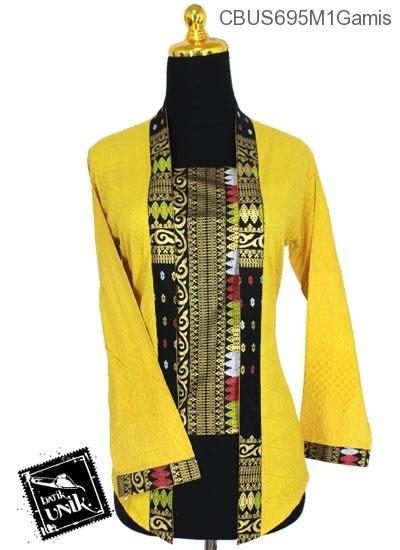 Abaya Vita Setelan Atasan Rok Kemeja Batik Sarimbit baju batik sarimbit setelan family motif songket tumpal