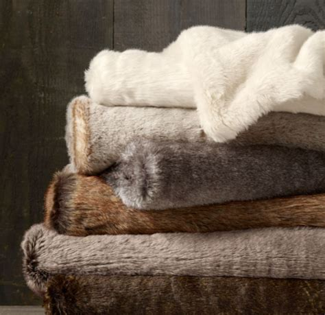 Best Faux Fur Blanket by Wallpaper Free Faux Fur Throws