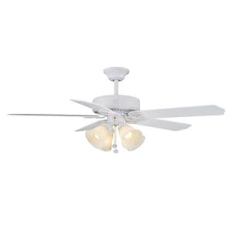 huntington ceiling fans hton bay huntington iii 52 in indoor white ceiling fan