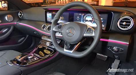 mercedes e class interior 2017 mercedes e class interior light autonetmagz