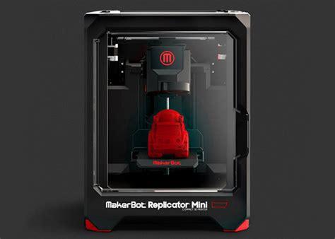 Printer 3d Makerbot makerbot replicator mini compact 3d printer hiconsumption