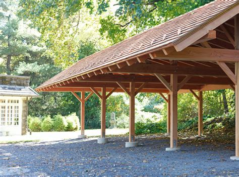 Wood Frame Carport Plans