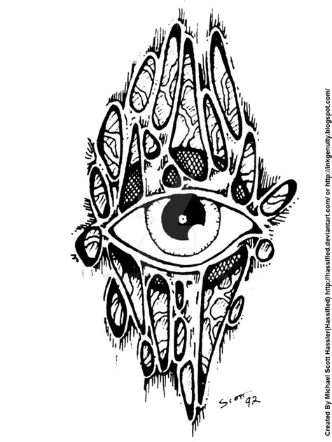 third eye tattoo designs third eye by hassified on deviantart