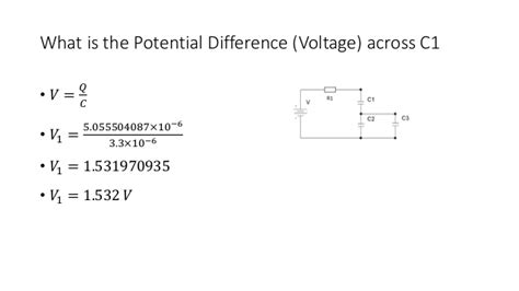 afterward what is the potential difference across c1 capacitor unit 6 electrical and electronic principle capacitor calculations