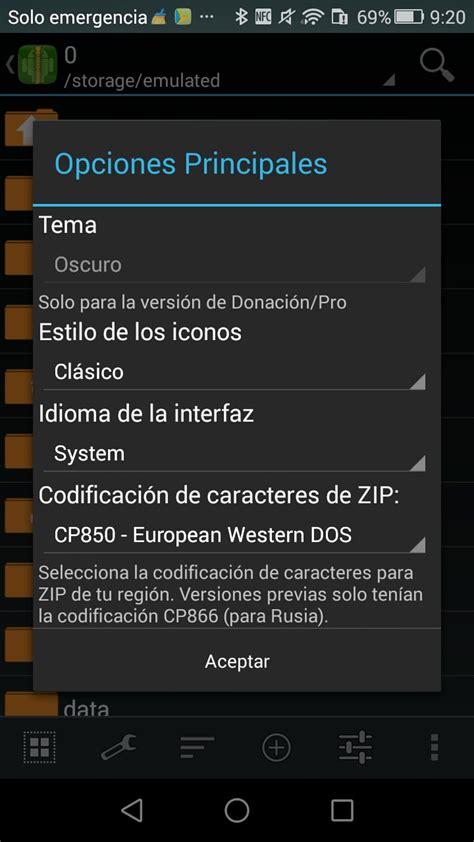 zarchiver android descargar zarchiver android gratis en espa 241 ol