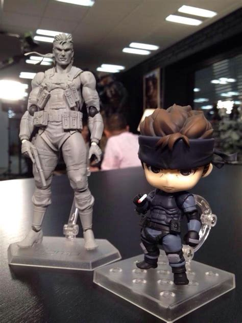 Dpk093 Nendoroid Metal Gear Soloid Solid Snake two new solid snake figures revealed nendoroid and figma