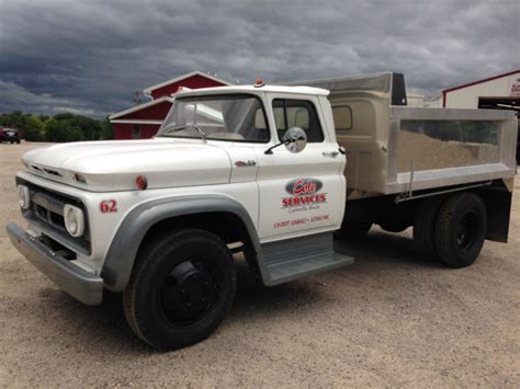 10 foot truck bed for sale 1962 chevrolet c60 truck with 10 foot aluminum dump bed