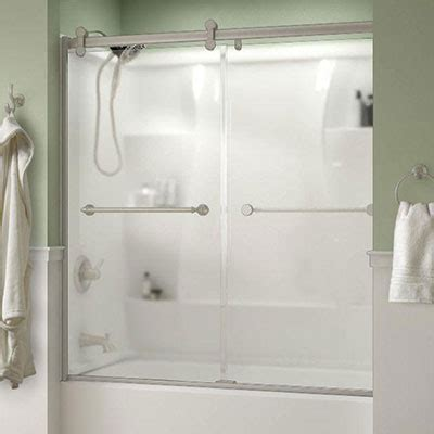 bathtub screen door bathtub doors bathtubs the home depot