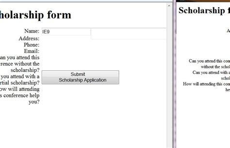 css layout without tables 2 column layout for form without tables html css