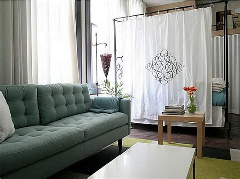 studio apartment bed ideas bloombety bed room divider ideas for studio room divider