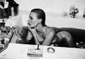 Fat Man In Bathtub January Jones Cover Story At Home With January The