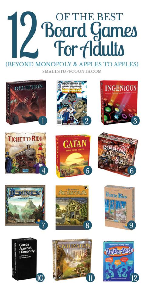 Fun Gifts Ideas 12 of the best board games for adults beyond monopoly