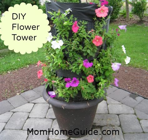 Diy Flower Tower Planter by 15 Ideas For Tower Planters