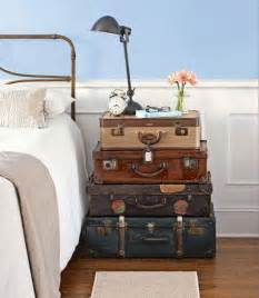 decorating with vintage suitcases panda s house
