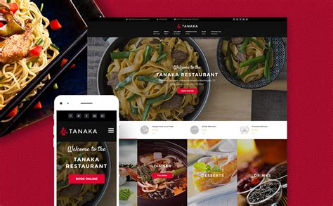 restaurant themes html japanese restaurant wordpress template