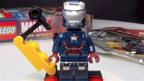 Lego Heroes 30168 Gun Mounting System Polybag lego iron patriot 30168 marvel heroes preorder promo review